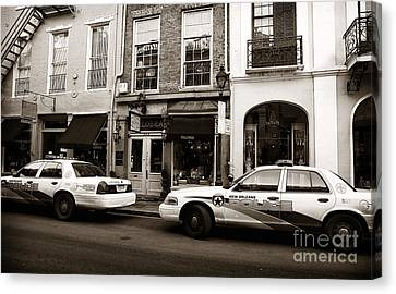 Orleans Pd Canvas Print by John Rizzuto