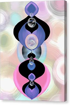 Ornamental Fascination Canvas Print by Christine Fournier