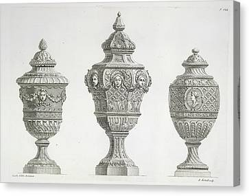 Ornaments Canvas Print by British Library