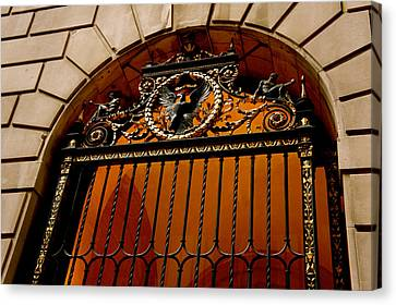 Ornate Arched Door Canvas Print by Art Spectrum