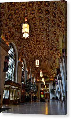 Ornate Entryway Canvas Print by Frozen in Time Fine Art Photography
