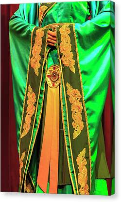 Ornate Traditional Costume, Tang Canvas Print
