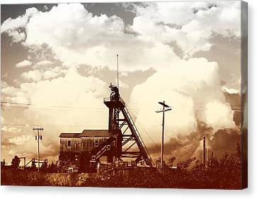 Canvas Print featuring the photograph Orphan Girl Mine  by Kevin Bone