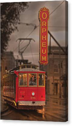 Orpheum Theater Memphis Canvas Print by Don Wolf