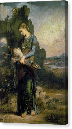 Orpheus, 1865 Oil On Canvas Canvas Print by Gustave Moreau