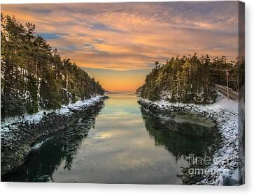 Orrs Island Maine Canvas Print