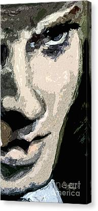 Orson Welles Citizen Kane Modern Portrait Canvas Print by Ginette Callaway