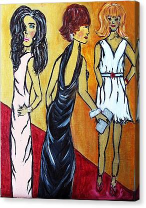 Oscar After-parties  Canvas Print by Victoria  Johns