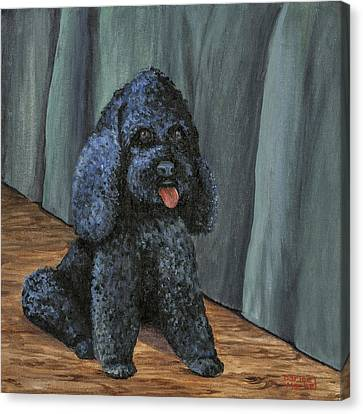 Oscar Canvas Print by Darice Machel McGuire