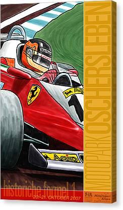 Oschersleben Historic F1 Grand Prix Canvas Print