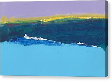 Oscillation Canvas Print