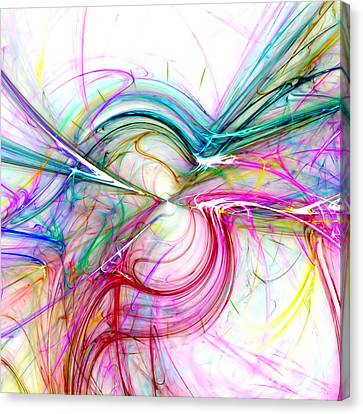 Abstraction Canvas Print - Oscillation...balance by Tom Druin