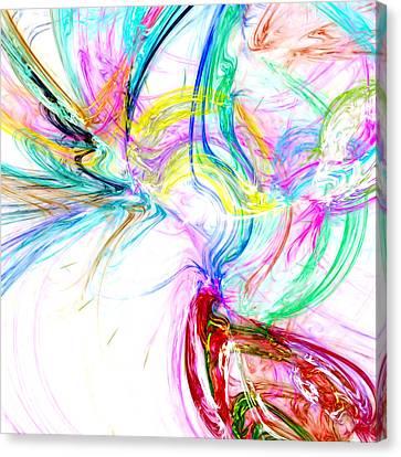 Oscillation...composer Canvas Print by Tom Druin