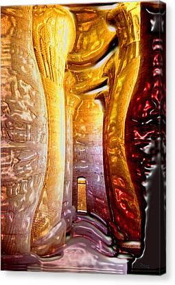 Osiris Had One To Many. Canvas Print