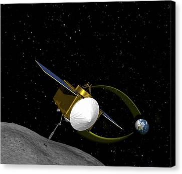 Osiris-rex Asteroid Mission Canvas Print