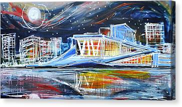 Oslo Opera House Canvas Print