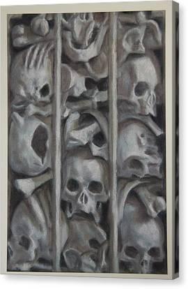 Ossuary Canvas Print by Paez  Antonio