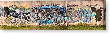 Osu Graffiti Canvas Print by Jacob Brewer