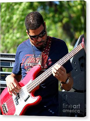 Oteil Burbridge Canvas Print