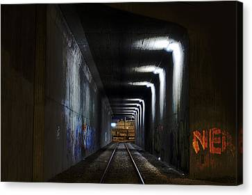 Abandoned Canvas Print - Other Side Of The Tunnel by EXparte SE