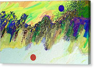 Otherworldly Canvas Print by Lenore Senior