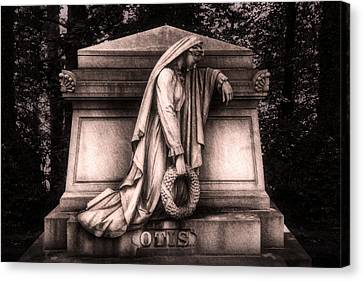 Otis Monument Canvas Print by Tom Mc Nemar