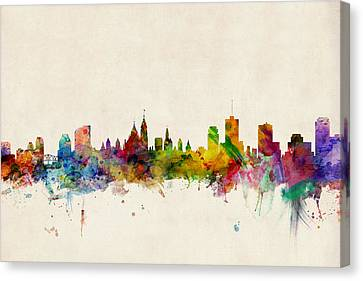 Ottawa Skyline Canvas Print by Michael Tompsett