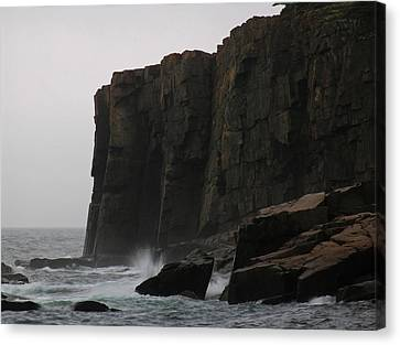 Otter Cliff Canvas Print by Juergen Roth