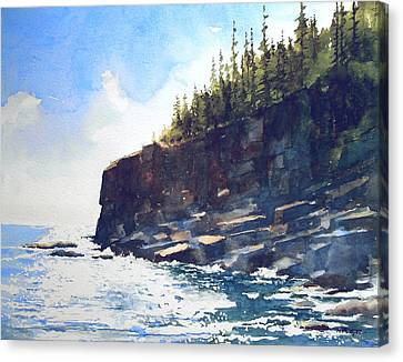 Otter Point Canvas Print