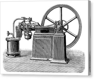 Otto Petrol Engine Canvas Print by Science Photo Library