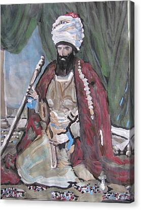 Canvas Print featuring the painting Ottoman Empire by Vikram Singh