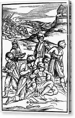 Ottoman Surgery, 1573 Canvas Print by Granger
