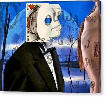 Ouija Canvas Print by James Stough