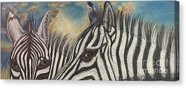 Our Eyes Are The Windows To Our Souls Canvas Print by Kimberlee Baxter