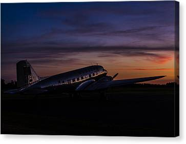 Our Heritage At Sunrise Canvas Print by Amber Kresge