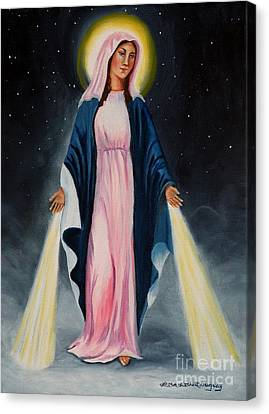 Our Lady Of Grace II Canvas Print