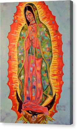 Our Lady Of Guadalupe Canvas Print by Arturo Garcia