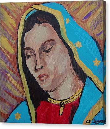 Our Lady Of Guadalupe  Canvas Print by Charlene Leger