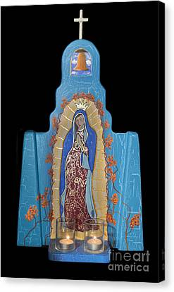 Our Lady Of Guadalupe Canvas Print by Jerry McElroy