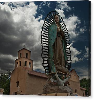 Our Lady Of Guadalupe Canvas Print by Julie VanDore