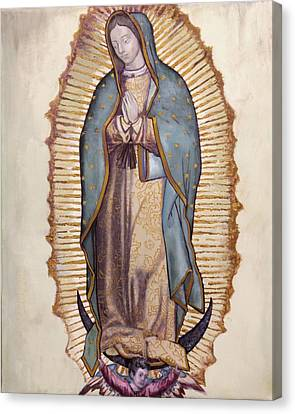 Our Lady Of Guadalupe Canvas Print by Richard Barone