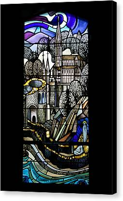 Our Lady Of Lourdes France Canvas Print by Thomas Woolworth