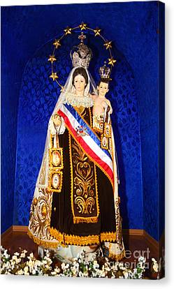Our Lady Of Mount Carmel Chile Canvas Print
