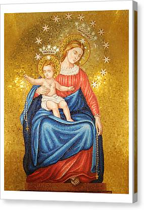 Our Lady Of Pompeii Canvas Print by Philip Ralley