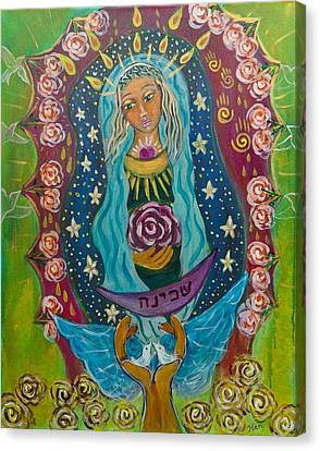 Our Lady Of Rebirth And Renewal Canvas Print by Havi Mandell
