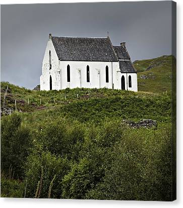 Our Lady Of The Braes Canvas Print by Bud Simpson