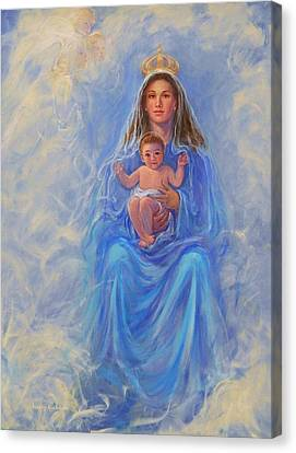 Our Lady Of Victory Canvas Print by Beverly Klucher