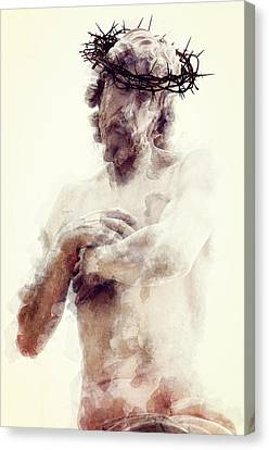 Our Lord And Savior Canvas Print by Daniel Hagerman