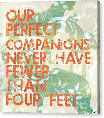 Our Perfect Companion Canvas Print