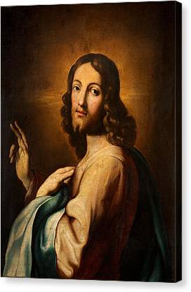 Our Saviour Canvas Print by Spanish School